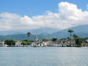 Beautiful town of Paraty, one of the oldest colonial towns in Brazil (founded in 1667)